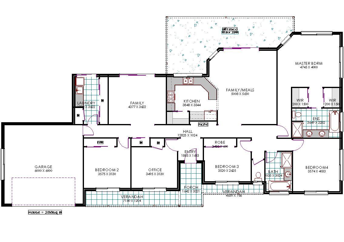 Callista floor plan
