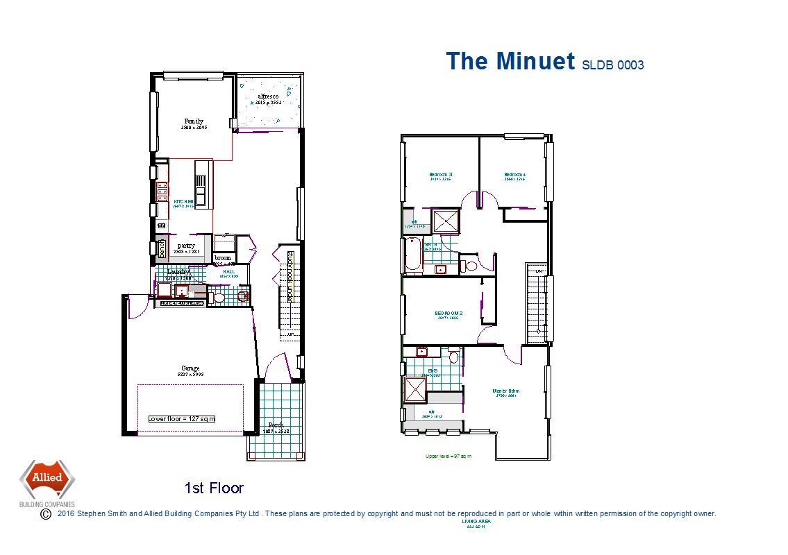 Minuet floor plan